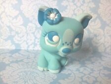 Winter True Blue Piglet Baby Pig * OOAK Hand Painted Custom Littlest Pet Shop