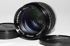 """Excellent+++"" OLYMPUS  OM F.ZUIKO Auto-T 85mm F/2 Lens  From Japan #0113"