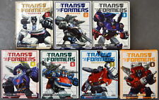 Lot of 7 Transformers 20th TAKARA G1 Bookstyle Re-issue 1-5 & 7-8 - ALL MIB!