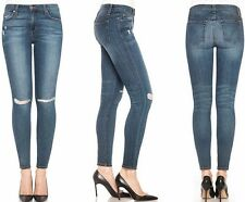 NWT JOE'S Sz29 THE ICON ANKLE MIDRISE SKINNY STRETCH JEANS DISTRESSED TERRI $169