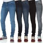 Criminal Justice Mens Designer Branded Super Skinny Stretch Fit Jeans, BNWT