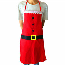 1PC Xmas New Funny Kitchen Cooking Apron Christmas Decorations Kitchen Supplies