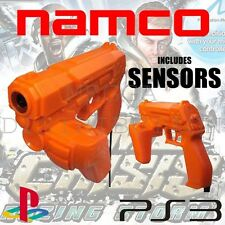 Official NAMCO G-CON Light Gun + Sensors for Sony Playstation PS3
