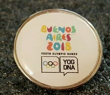 2018 Buenos Aires Youth Olympic Games YOG DNA LOGO pin