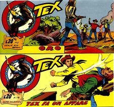 Tex 22°  serie Rio Bravo ristampa completa di16 strisce