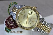 ROLEX 14K & SS TURN-O-GRAPH 1625, B&P, PRICE REDUCED $600 FOR 1 DAY SALE !!