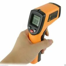 Super LCD IR Laser Infrared Digital Temperature Thermometer Gun Point temp meter