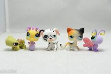Hasbro Littlest Pet Shop LOT #106 Cat Short hair,Dalmatian 44,Butterfly 93,Kitty