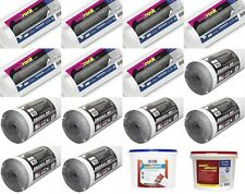 7 X Graphite Insulating Lining Paper 7 x Fibreliner 150 Thermal Liner Adhesive