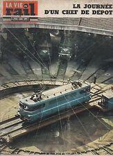 la vie du rail N°1170 du 1 decembre 1968 la journée d'un chef de depot