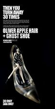"""Ashley Wood ThreeA 3A 3AA Oliver apple 10""""girl +1 Ghost Shoe. Singned + numbered"""