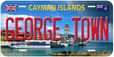 George Town Cayman Island Novelty Car License Plate P02