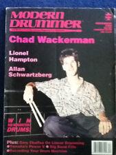 Modern Drummer - Dec 1988 - CHAD WACKERMAN / LIONEL HAMPTON / ALLAN SCHWARTZBERG