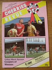 11/04/1987 Bournemouth v Walsall  (No Apparent Faults)