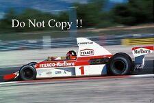 Emerson Fittipaldi McLaren M23 French Grand Prix 1975 Photograph 2