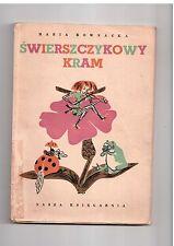 M Kownacka Świerszczykowy kram il M Berezowska 1949 polish book for children