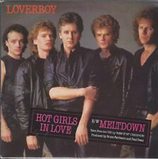 "7"" Loverboy Hot Girls In Love / Meltdown 80`s CBS A-3365"
