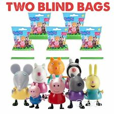 2  NEW PEPPA PIG SURPRISE BLIND BAG WITH FIGURINE TWO BAGS ONLY!