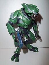 Halo Reach **GREEN ELITE OFFICER** McFarlane Action Figure Complete w/ Weapon