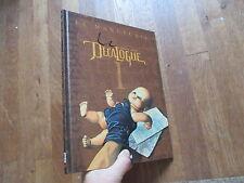 ALBUM BD LE DECALOGUE tome 1 le manuscrit eo 2001 imp janvier 2001 glenat behe