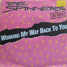 "7"" 1988 REMIX ! SPINNERS Working My Way Back To You M-?"