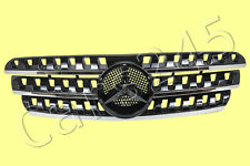 MERCEDES ML Class W163 98-2005 Front Central Black Grill 99 00 01 02 03 04