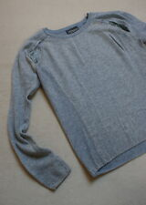PRINCESS GOES HOLLYWOOD Pullover 34 36 grau Kaschmir Wolle Cashmere strass TOP