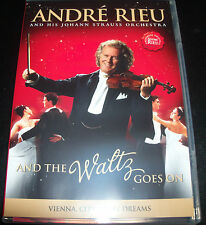 Andre Rieu And The Waltz Goes On (Australia All Region) DVD - New