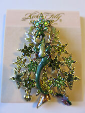 KIRKS FOLLY CALISE DRAGON CHRISTMASTREE PIN/PENDANT NWT