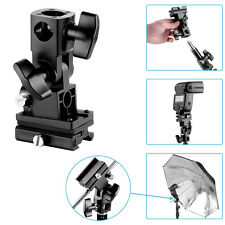 Neewer Flash Hot-Shoe Umbrella Holder Swivel Light Stand Bracket B Type
