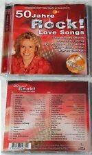 50 JAHRE ROCK LOVE SONGS Bee Gees, Udo Lindenberg, Moody Blues,...Polystar DO-CD
