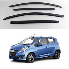 New Smoke Window Vent Visors Rain Guards for Chevrolet Spark 2011-2013