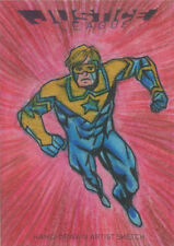 DC Comics Justice League Sketch Card by Mauricio Diaz of Starman