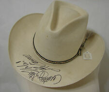 Jeff Carson Autographed Straw Hat For Country Cafe Loretta Lynn's Western Store