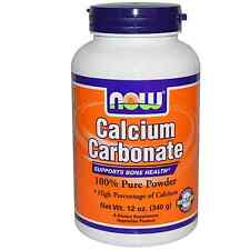 NOW Foods, carbonato di calcio, 100% puro in polvere, 12 OZ (340 g)