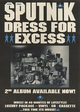 15/4/89Pgn33 Advert: Sigue Sigue Sputnik 'dress For Excess' 2nd Album 15x11