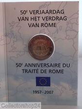 Coincard Belgium 2 Euro Card 50e verjaardag verdrag van Rome 2007