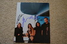 THE CORRS  signed Autogramm In Person 20x25 cm rar!! komplette Band !!