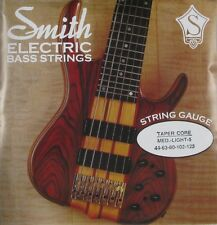 KEN SMITH TCRML-5 TAPER-CORE STEEL BASS STRINGS, MEDIUM LIGHT GAUGE 5's - 44-125
