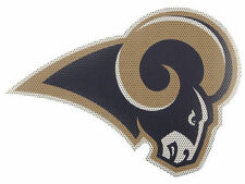 LOS ANGELES RAMS NFL LICENSED 12 IN UNOBSTRUCTED CAR REAR WINDOW DECAL