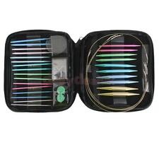 Interchangeable 13 Sizes Circular Knitting Needle Set 2.75mm-10mm in Case