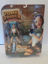 "RARE NIB TOMB RAIDER ADVENTURES OF LARA CROFT ""ESCAPES THE POWERFUL CROCODILE!"""