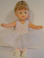 CUTE Corelle French Ballerina Outfit Toddler Doll Retired 1995 Les Minis Series