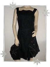 Magnifique Robe Fantaisie Asymétrique Noire Iconoclast Taille 38