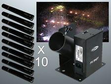SHOWTEC FX SHOT CORIANDOLI CANNON TIRATORE pacchetto Inc CARTUCCE effetto speciale
