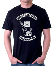 Sons of Adventure Time Anarchy black XXX-LARGE cotton t-shirt 9834