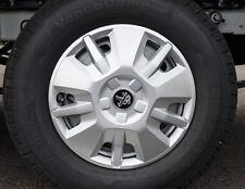 "15"" Genuine Peugeot Boxer Wheel Trim x 4 Trims Van Motorhome Hub Cap New Qty 4"