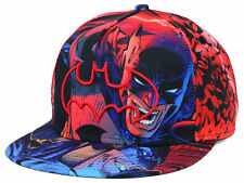 Batman Movie DC Comics Book Men's All Over Sublimation Snapback Hat Cap