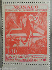 MONACO 1972, timbre 908, TABLEAU FRESQUE CANAVESIO, PAINTING, neuf**, VF MNH