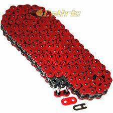 525 x 120 Links Motorcycle ATV RED O-Ring Drive Chain 525-Pitch 120-Links